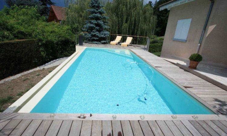 Couleurs PVC armée pour piscine - Blanc