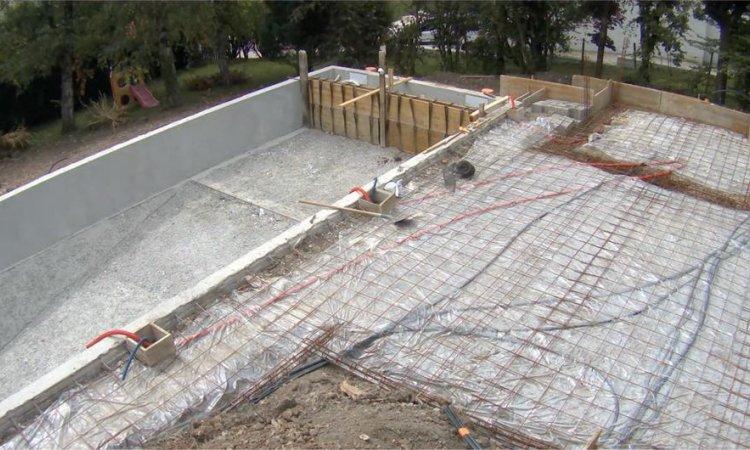 Construction de piscine à Saint-Nazaire-Les-Eymes