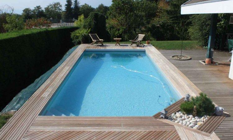 Dallage IPE  pour piscine - Saint-Nazaire-Les-Eymes
