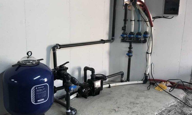 Filtration pour piscine àSaint-Nazaire-Les-Eymes