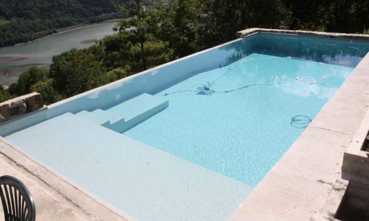 Couleurs PVC armée pour piscine - Gris